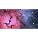TRIFID NEBULA BELIEVE 3D Greeting Card (8x4)  Front