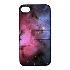 Trifid Nebula Apple Iphone 4/4s Hardshell Case With Stand