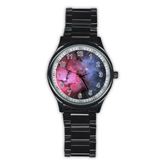 Trifid Nebula Stainless Steel Round Watches