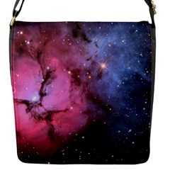 Trifid Nebula Flap Messenger Bag (s)