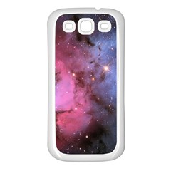 Trifid Nebula Samsung Galaxy S3 Back Case (white) by trendistuff