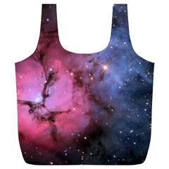 Trifid Nebula Full Print Recycle Bags (l)
