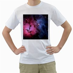Trifid Nebula Men s T Shirt (white)
