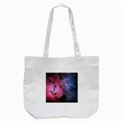 Trifid Nebula Tote Bag (white)