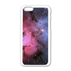 Trifid Nebula Apple Iphone 6/6s White Enamel Case