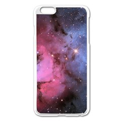Trifid Nebula Apple Iphone 6 Plus/6s Plus Enamel White Case by trendistuff