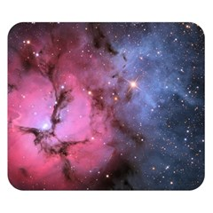 Trifid Nebula Double Sided Flano Blanket (small)