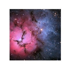 Trifid Nebula Small Satin Scarf (square)  by trendistuff