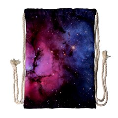 Trifid Nebula Drawstring Bag (large)