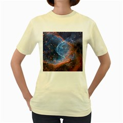 Thor s Helmet Women s Yellow T Shirt
