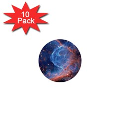 Thor s Helmet 1  Mini Buttons (10 Pack)