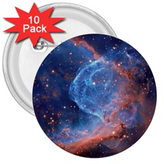 Thor s Helmet 3  Buttons (10 Pack)