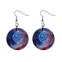 Thor s Helmet Mini Button Earrings