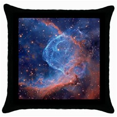 Thor s Helmet Throw Pillow Cases (black)