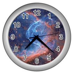 Thor s Helmet Wall Clocks (silver)