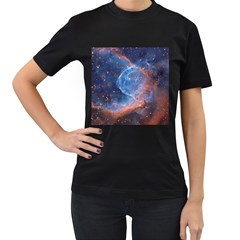 Thor s Helmet Women s T Shirt (black) (two Sided)