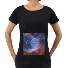 THOR S HELMET Women s Loose-Fit T-Shirt (Black) by trendistuff