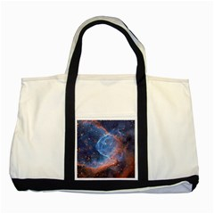 Thor s Helmet Two Tone Tote Bag
