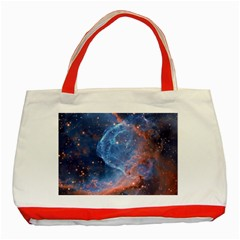 Thor s Helmet Classic Tote Bag (red)