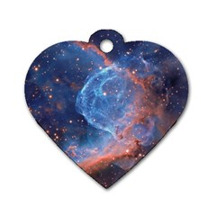 Thor s Helmet Dog Tag Heart (two Sides)