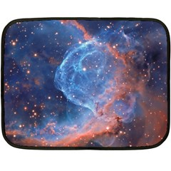 Thor s Helmet Double Sided Fleece Blanket (mini)