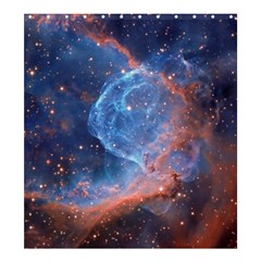Thor s Helmet Shower Curtain 66  X 72  (large)