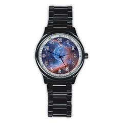 Thor s Helmet Stainless Steel Round Watches