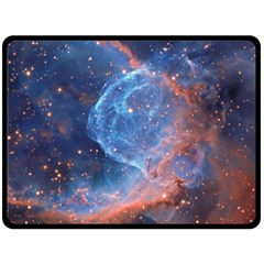 Thor s Helmet Double Sided Fleece Blanket (large)