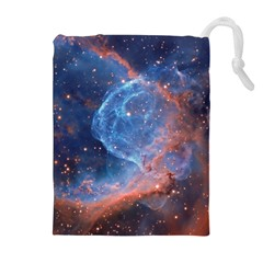 Thor s Helmet Drawstring Pouches (extra Large)