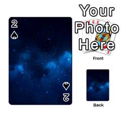Starry Space Playing Cards 54 Designs  by trendistuff