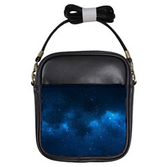 Starry Space Girls Sling Bags by trendistuff