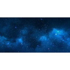 Starry Space You Are Invited 3d Greeting Card (8x4)