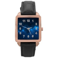 Starry Space Rose Gold Watches