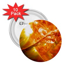 SOLAR FLARE 2 2.25  Buttons (10 pack)  by trendistuff