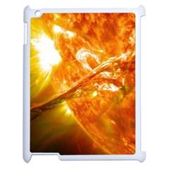 Solar Flare 2 Apple Ipad 2 Case (white) by trendistuff