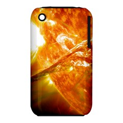 Solar Flare 2 Apple Iphone 3g/3gs Hardshell Case (pc+silicone) by trendistuff