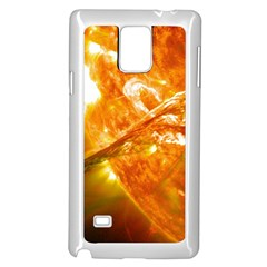 Solar Flare 2 Samsung Galaxy Note 4 Case (white) by trendistuff