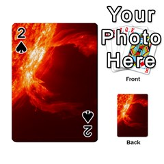 Solar Flare 1 Playing Cards 54 Designs  by trendistuff