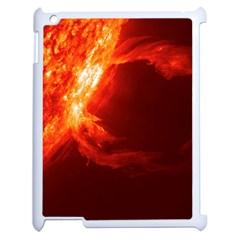 Solar Flare 1 Apple Ipad 2 Case (white) by trendistuff