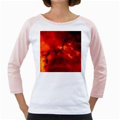 Rosette Nebula 2 Girly Raglans by trendistuff