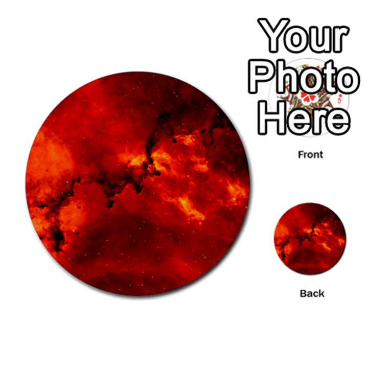 ROSETTE NEBULA 2 Multi-purpose Cards (Round)