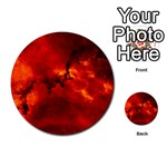 ROSETTE NEBULA 2 Multi-purpose Cards (Round)  Back 25