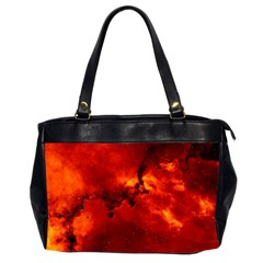 Rosette Nebula 2 Office Handbags (2 Sides)  by trendistuff