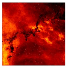 Rosette Nebula 2 Large Satin Scarf (square) by trendistuff