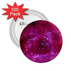 Rosette Nebula 1 2 25  Buttons (100 Pack)  by trendistuff