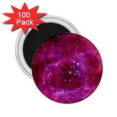 Rosette Nebula 1 2 25  Magnets (100 Pack)  by trendistuff
