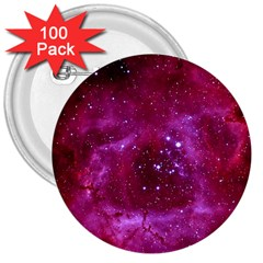 Rosette Nebula 1 3  Buttons (100 Pack)  by trendistuff