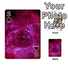 Rosette Nebula 1 Playing Cards 54 Designs  by trendistuff