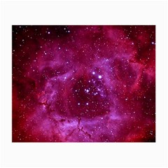 Rosette Nebula 1 Small Glasses Cloth (2 Side) by trendistuff