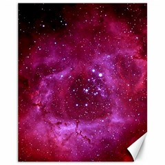 ROSETTE NEBULA 1 Canvas 11  x 14   by trendistuff